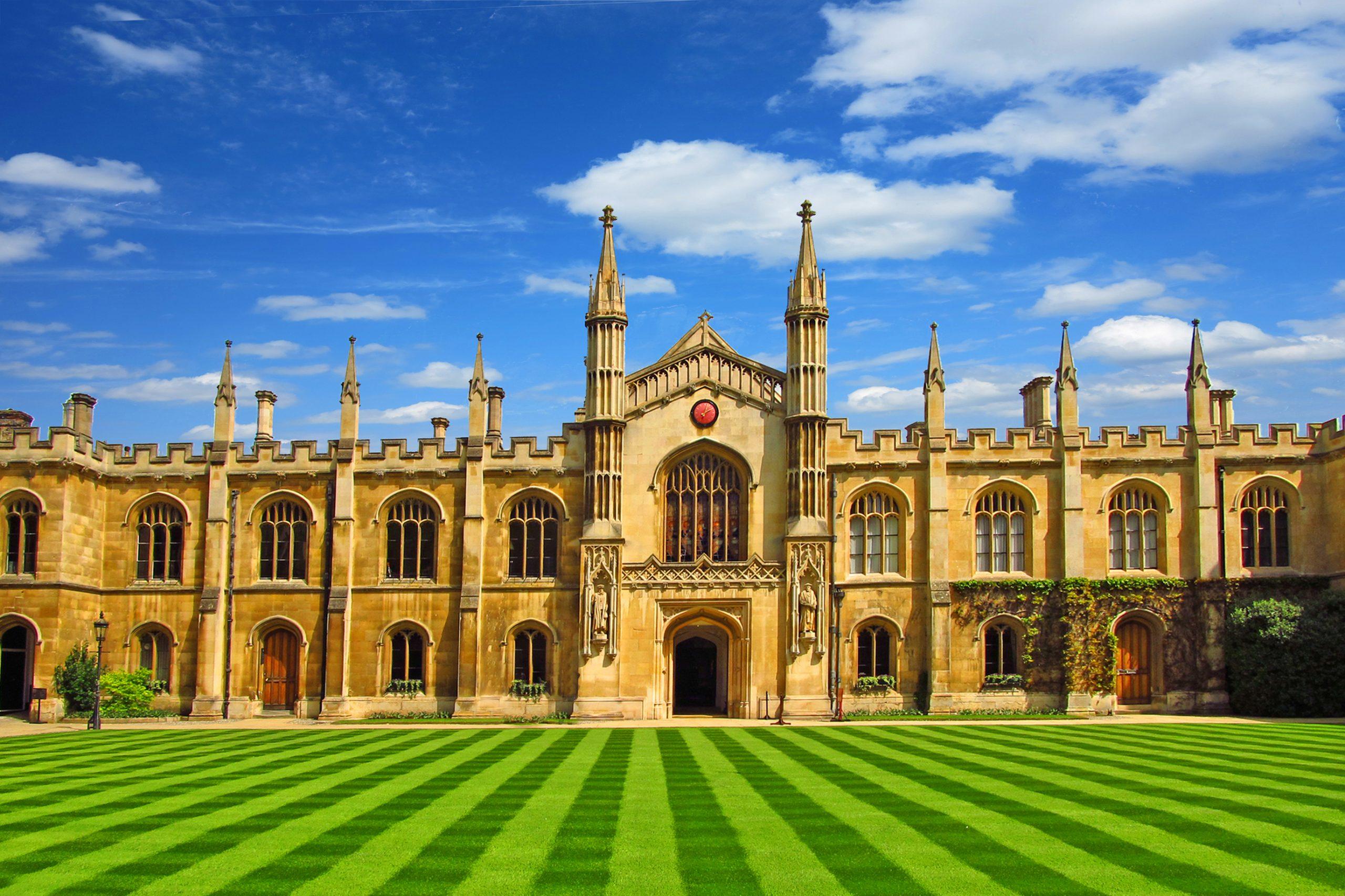University of Cambridge Lawn