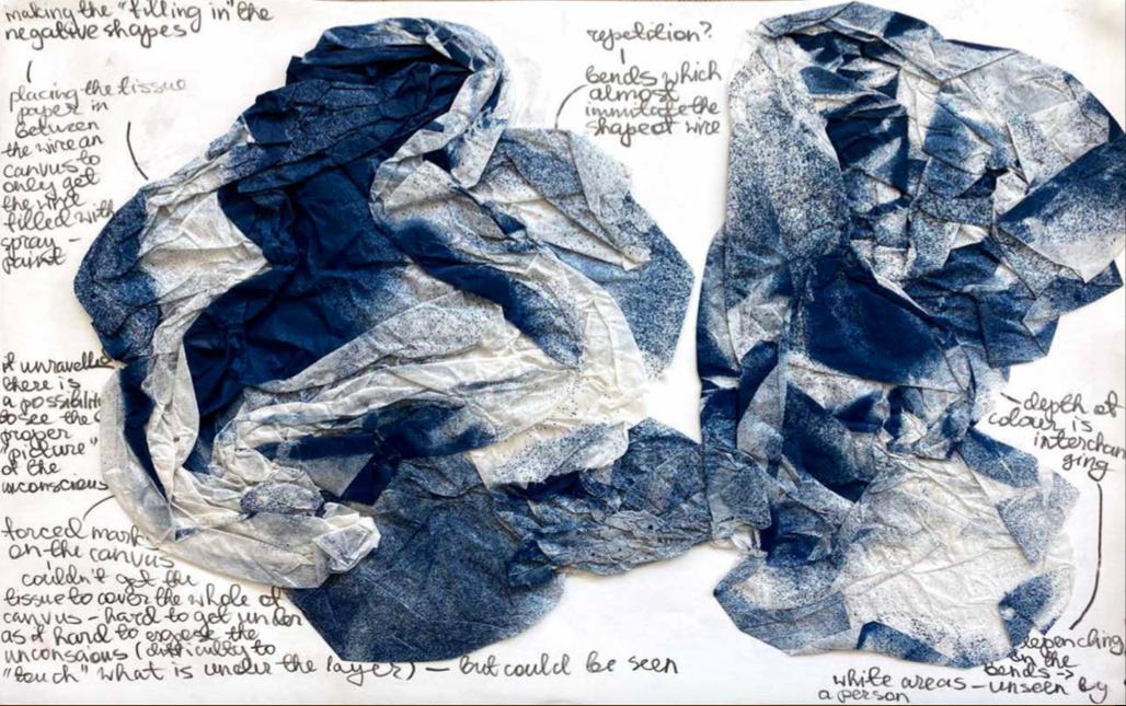 Biomorphic forms in Nadezda Entts' Portfolio