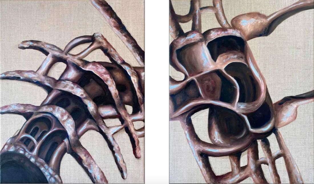 Artwork from Nadezda Entts' portfolio inspired by Gaudi